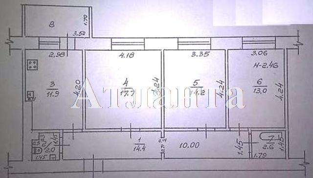 Продается 3-комнатная квартира на ул. Балковская — 50 000 у.е. (фото №15)