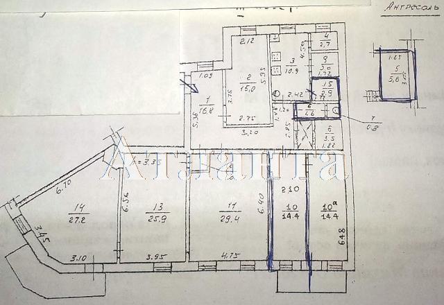 Продается 1-комнатная квартира на ул. Коблевская — 10 000 у.е. (фото №4)