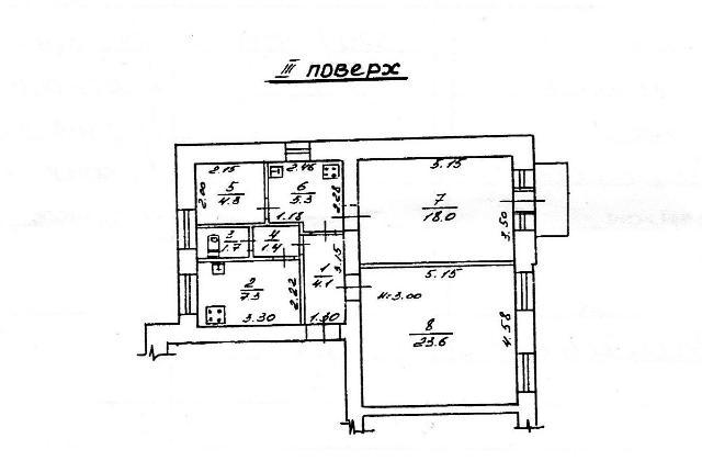 Продается 2-комнатная квартира на ул. Бабеля — 45 000 у.е.