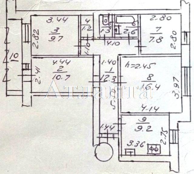 Продается 4-комнатная квартира на ул. Крымская — 48 000 у.е. (фото №10)