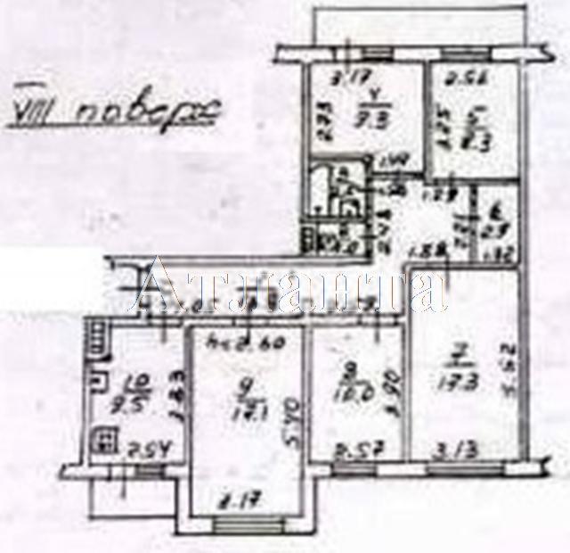 Продается 5-комнатная квартира на ул. Академика Глушко — 63 000 у.е. (фото №9)