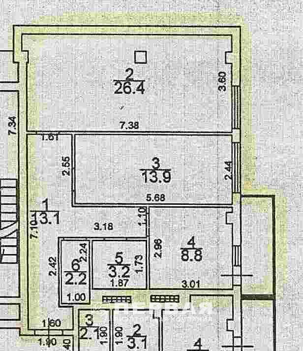 Продается 3-комнатная квартира в новострое на ул. Испанский Пер. — 37 000 у.е.