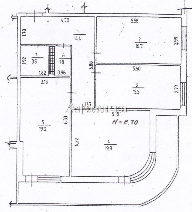 Продается 3-комнатная квартира на ул. Маршала Жукова — 82 000 у.е. (фото №12)
