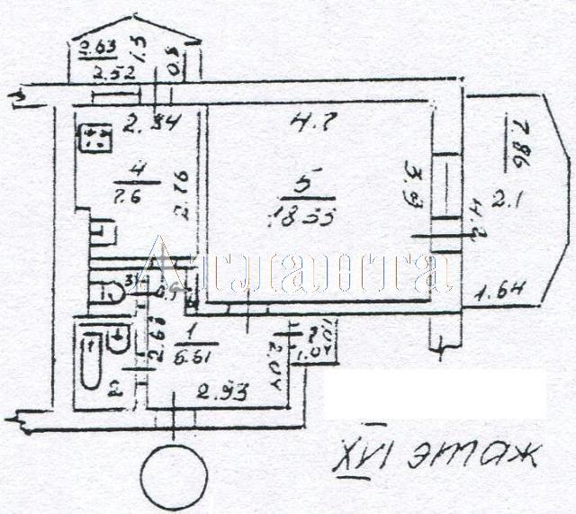 Продается 1-комнатная квартира на ул. Академика Вильямса — 30 000 у.е. (фото №9)