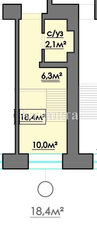 Продается 1-комнатная квартира в новострое на ул. 10 Апреля — 19 170 у.е. (фото №3)