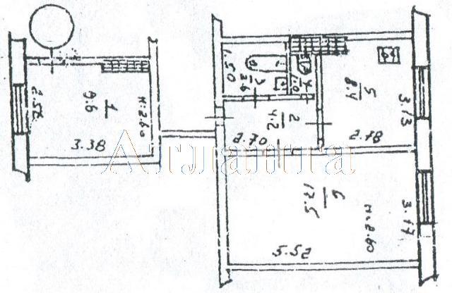 Продается 1-комнатная квартира на ул. Варненская — 6 500 у.е. (фото №11)