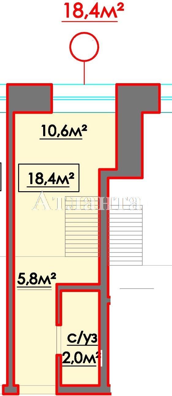 Продается 1-комнатная квартира в новострое на ул. 10 Апреля — 18 000 у.е. (фото №3)