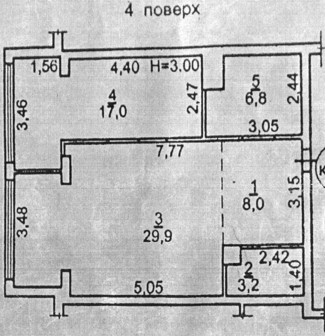 Продается 1-комнатная квартира на ул. Ясная — 140 000 у.е. (фото №5)