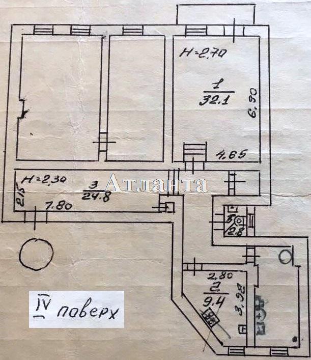 Продается 3-комнатная квартира на ул. Лермонтовский Пер. — 100 000 у.е. (фото №9)