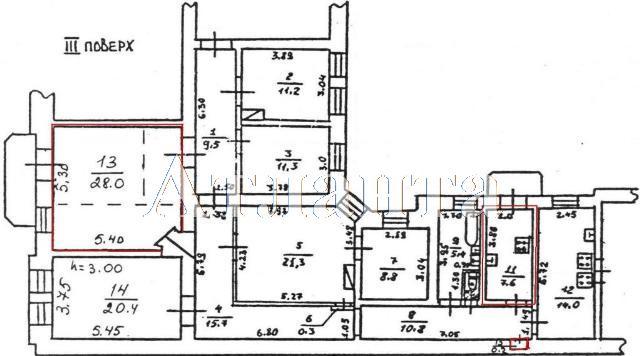Продается 1-комнатная квартира на ул. Нежинская — 26 000 у.е. (фото №12)