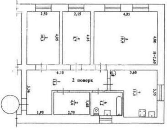 Продается 3-комнатная квартира на ул. Приморская — 27 000 у.е.