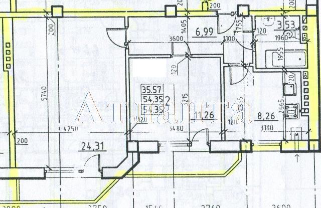 Продается 2-комнатная квартира в новострое на ул. Средняя — 46 200 у.е.