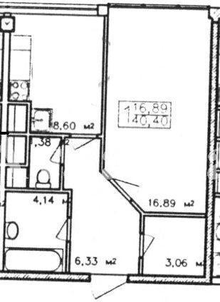 Продается 1-комнатная квартира в новострое на ул. Жемчужная — 44 000 у.е.