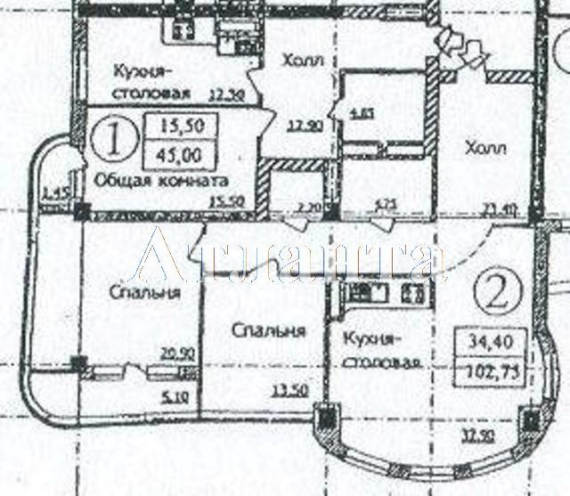 Продается 3-комнатная квартира в новострое на ул. Березовая — 85 000 у.е. (фото №12)