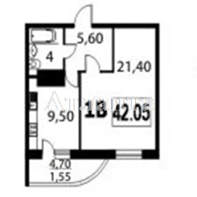 Продается 1-комнатная квартира в новострое на ул. Школьная — 26 500 у.е. (фото №2)