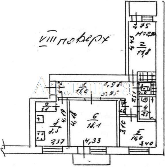 Продается 3-комнатная квартира на ул. Петрова Ген. — 65 000 у.е. (фото №8)