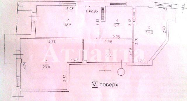 Продается 2-комнатная квартира в новострое на ул. Книжный Пер. — 88 000 у.е. (фото №5)