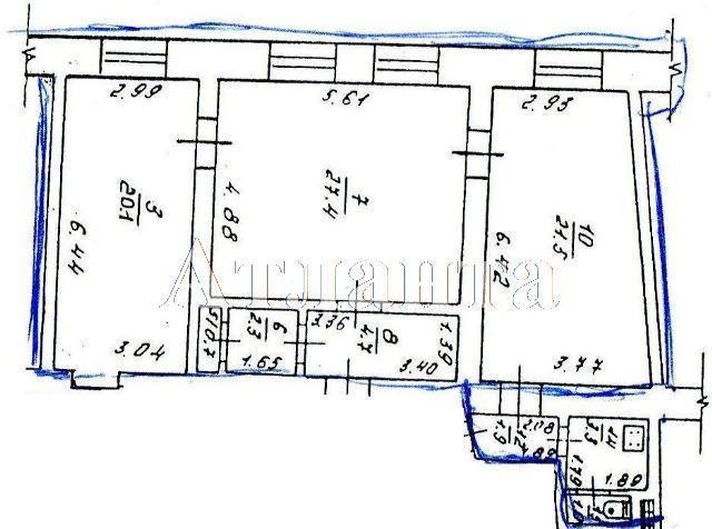 Продается 3-комнатная квартира на ул. Садовая — 65 000 у.е. (фото №11)