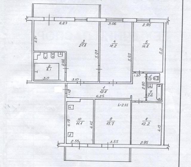 Продается 5-комнатная квартира на ул. Педагогическая — 90 000 у.е. (фото №5)