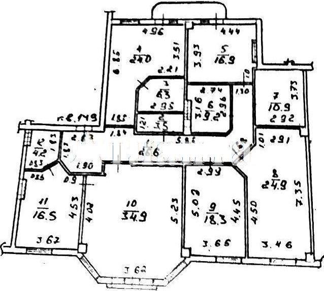Продается 4-комнатная квартира в новострое на ул. Греческая — 430 000 у.е. (фото №12)