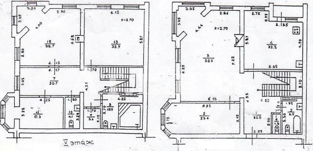 Продается Многоуровневая квартира на ул. Дунаева Пер. — 260 000 у.е. (фото №9)