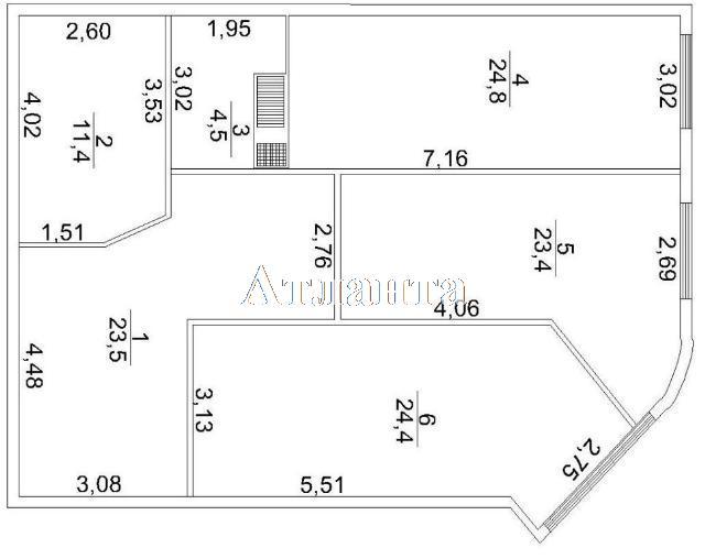 Продается 3-комнатная квартира в новострое на ул. Макаренко — 80 000 у.е. (фото №10)