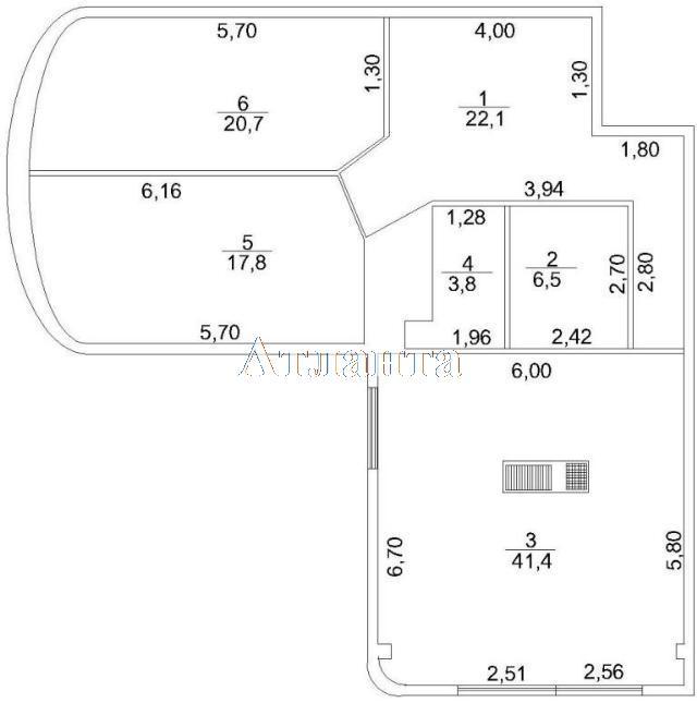 Продается 3-комнатная квартира в новострое на ул. Макаренко — 80 000 у.е. (фото №8)