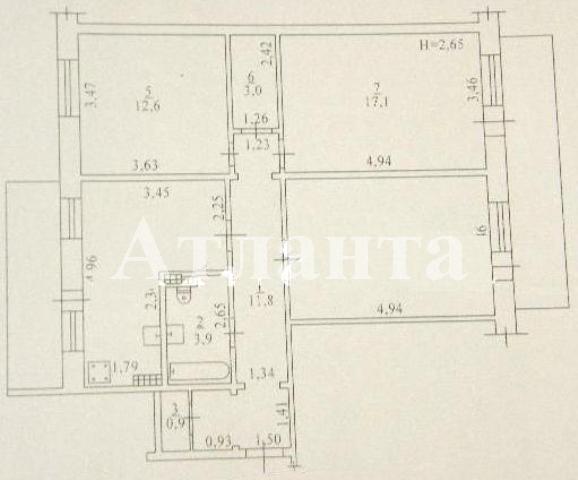 Продается 3-комнатная квартира в новострое на ул. Бугаевская — 70 000 у.е.