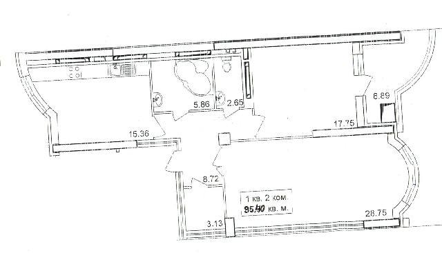 Продается 2-комнатная квартира в новострое на ул. Сабанский Пер. — 150 000 у.е.