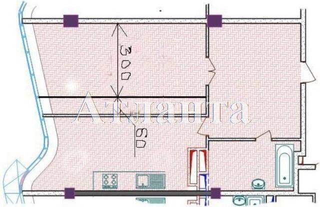 Продается 1-комнатная квартира в новострое на ул. Гагаринское Плато — 90 000 у.е. (фото №3)