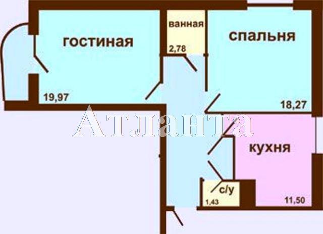 Продается 2-комнатная квартира в новострое на ул. Академика Вильямса — 41 500 у.е. (фото №11)