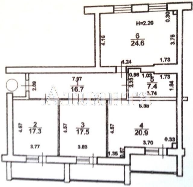 Продается 3-комнатная квартира в новострое на ул. Ядова Сергея — 49 900 у.е. (фото №6)