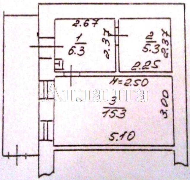Продается 1-комнатная квартира на ул. Генерала Цветаева — 25 000 у.е. (фото №7)