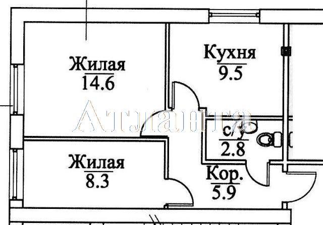 Продается 2-комнатная квартира в новострое на ул. Болгарская — 35 000 у.е. (фото №12)