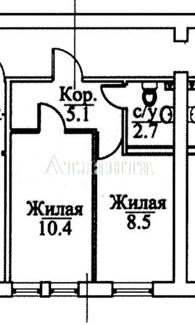 Продается 2-комнатная квартира в новострое на ул. Болгарская — 22 700 у.е. (фото №10)