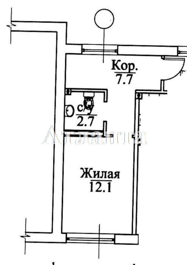 Продается 1-комнатная квартира в новострое на ул. Болгарская — 21 000 у.е. (фото №12)