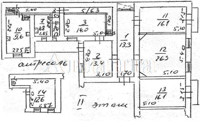 Продается 5-комнатная квартира на ул. Богданова Пер. — 100 000 у.е. (фото №11)