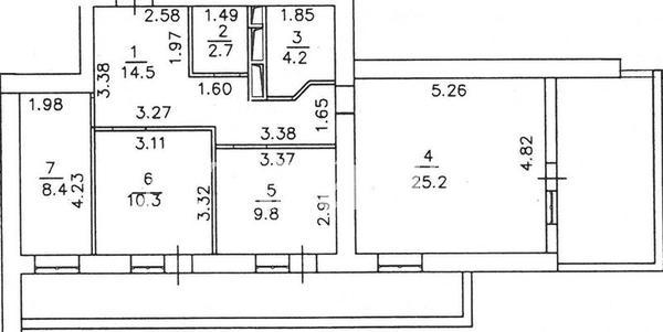 Продается 3-комнатная квартира в новострое на ул. Грушевского Михаила — 49 000 у.е. (фото №13)
