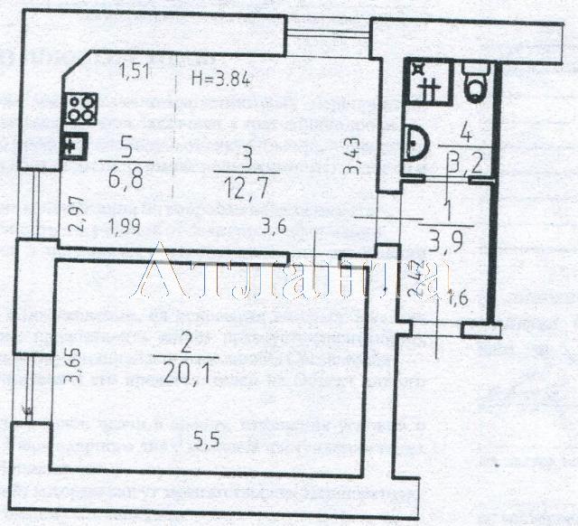 Продается 1-комнатная квартира на ул. Екатерининская — 75 000 у.е. (фото №7)