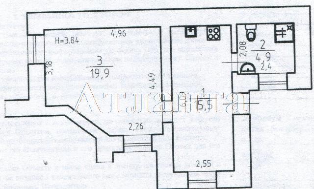 Продается 1-комнатная квартира на ул. Екатерининская — 65 000 у.е. (фото №5)