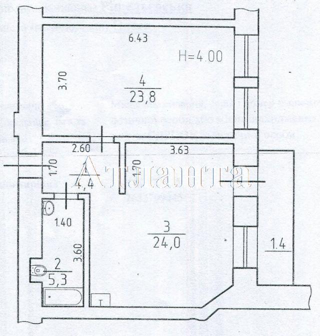 Продается 1-комнатная квартира на ул. Ришельевская — 90 000 у.е.