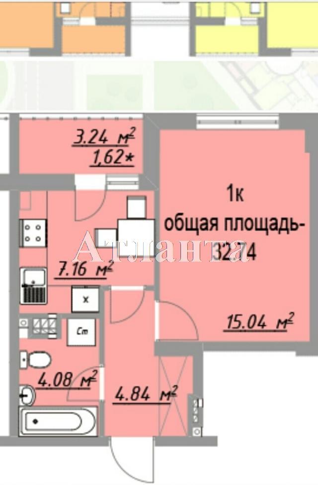 Продается 1-комнатная квартира в новострое на ул. Европейская — 26 000 у.е. (фото №6)