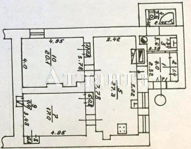 Продается 3-комнатная квартира на ул. Базарная — 55 000 у.е. (фото №6)