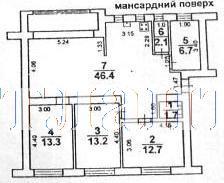 Продается 3-комнатная квартира на ул. Французский Бул. — 140 000 у.е. (фото №15)