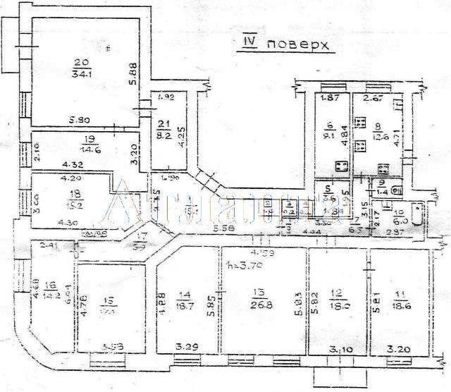 Продается 9-комнатная квартира на ул. Троицкая — 200 000 у.е.