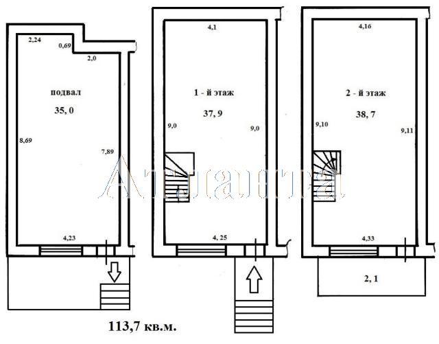 Продается Многоуровневая квартира в новострое на ул. Ришельевская — 75 000 у.е. (фото №11)