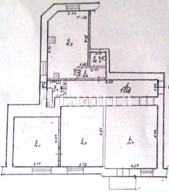 Продается 3-комнатная квартира на ул. Среднефонтанская — 40 000 у.е. (фото №6)