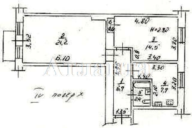 Продается 2-комнатная квартира на ул. Большая Арнаутская — 80 000 у.е. (фото №6)