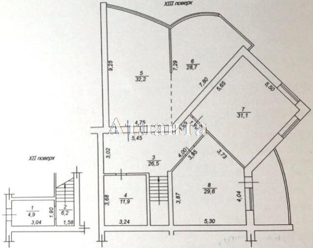 Продается 3-комнатная квартира в новострое на ул. Каркашадзе Пер. — 230 000 у.е. (фото №15)