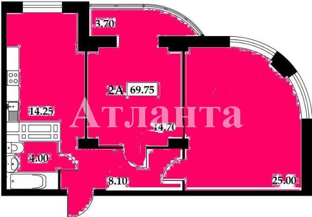 Продается 2-комнатная квартира на ул. Белинского — 65 000 у.е. (фото №2)